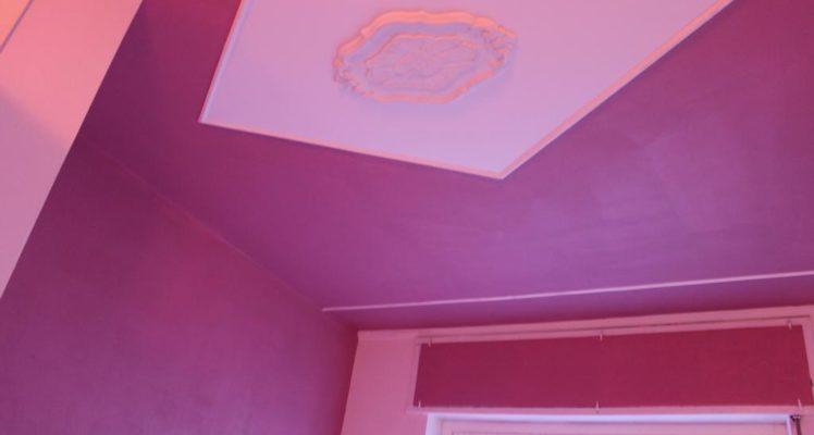 soffitto rossa tripla